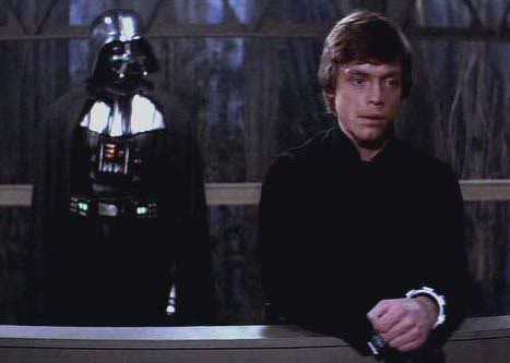 Return of the Jedi - Luke and Vader