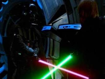 Return of the Jedi - Luke vs. Vader