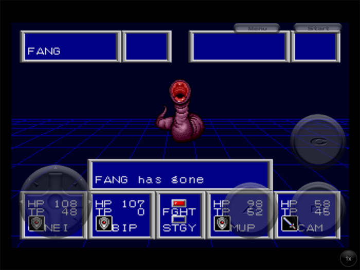 Phantasy Star II Fang Has Gone