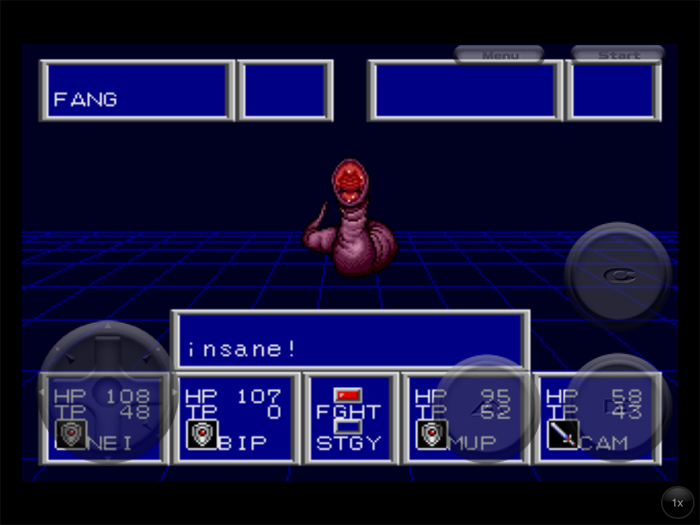 Phantasy Star II Fang Insane