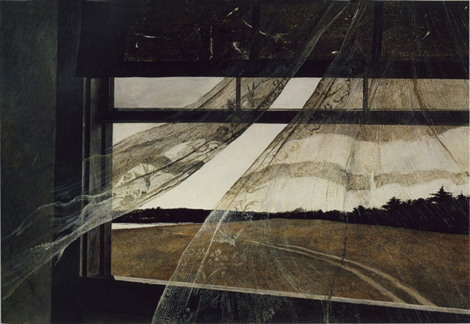 A Wind from the Sea, by Andrew Wyeth