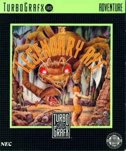 Legendary Axe Turbo Grafx 16 Cover
