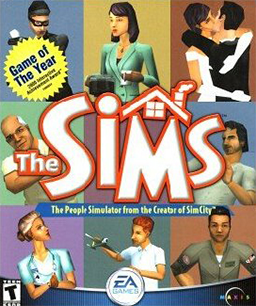 The Sims Cover Art