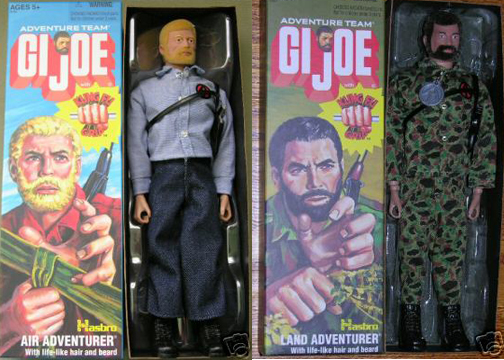 "Classic 12"" G.I. Joe Action Figures"