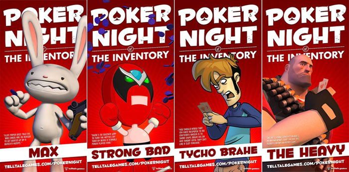 Poker Night at the Inventory Posters