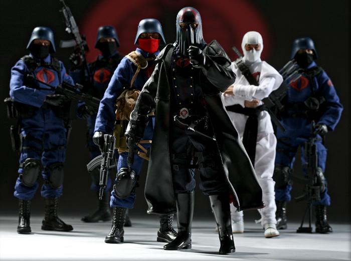 "Sideshow 12"" Cobra Figures"