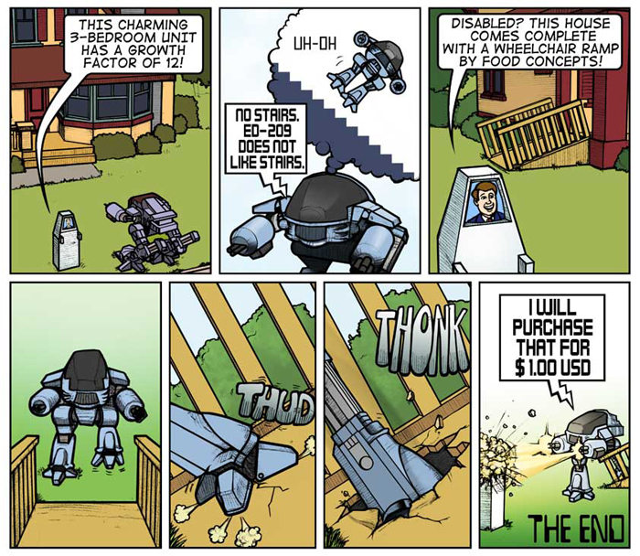ED-209 Goes Househunting