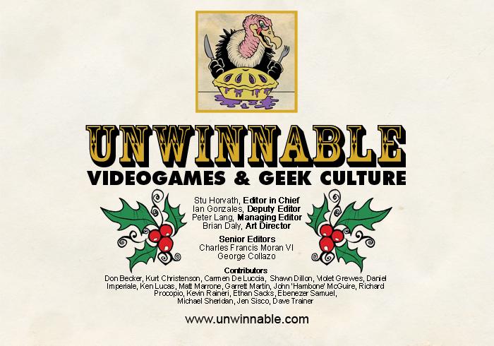 Unwinnable 2010 Holiday Card