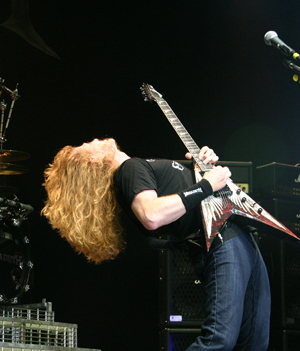 Dave Mustaine Shreds