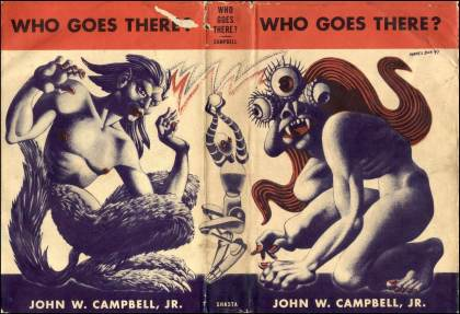 Who Goes There? by John W. Campbell Cover