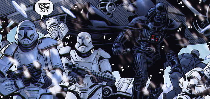 Darth Vader and the 501st