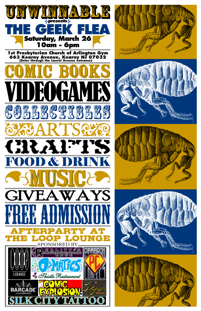 Geek Flea Poster