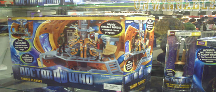 Toy Fair Doctor Who TARDIS Control Room Set