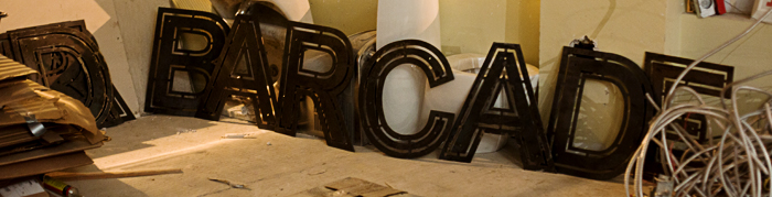 Barcade Sign