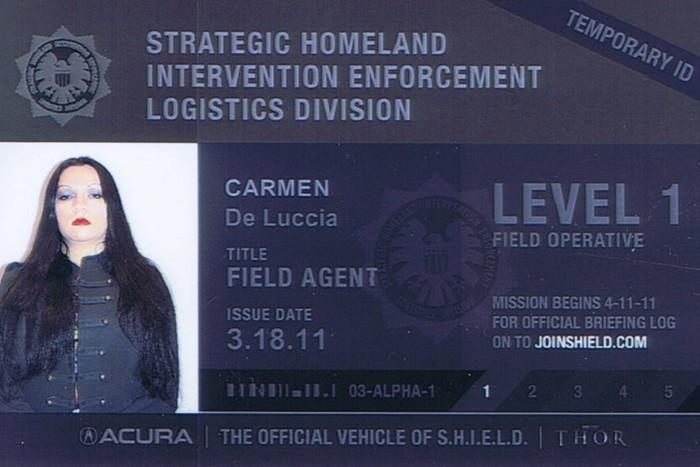 Carmen Agent of SHIELD