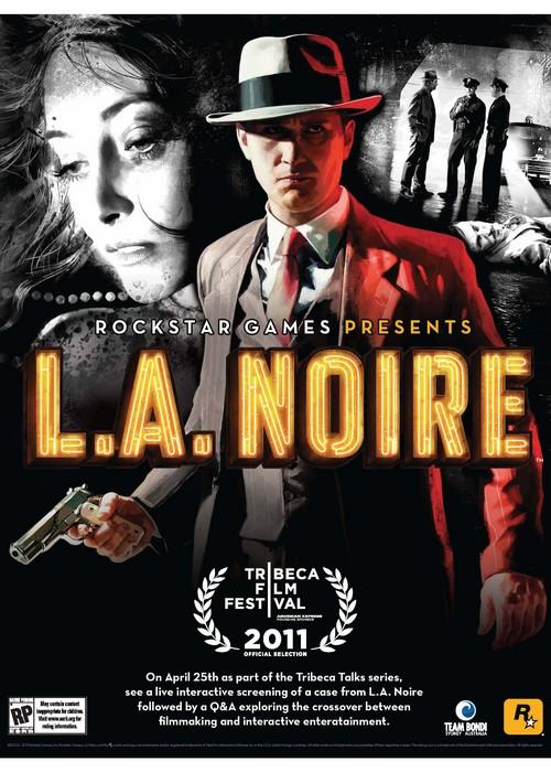 LA Noire Tribeca Film Festival Poster