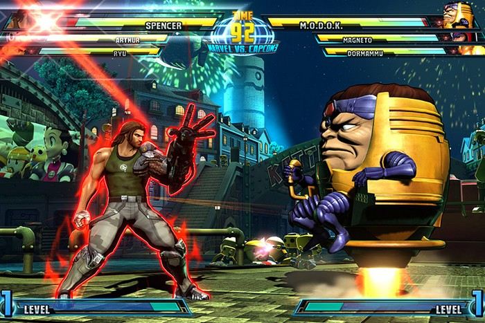 Marvel Vs Capcom 3 Bionic Commando MODOK