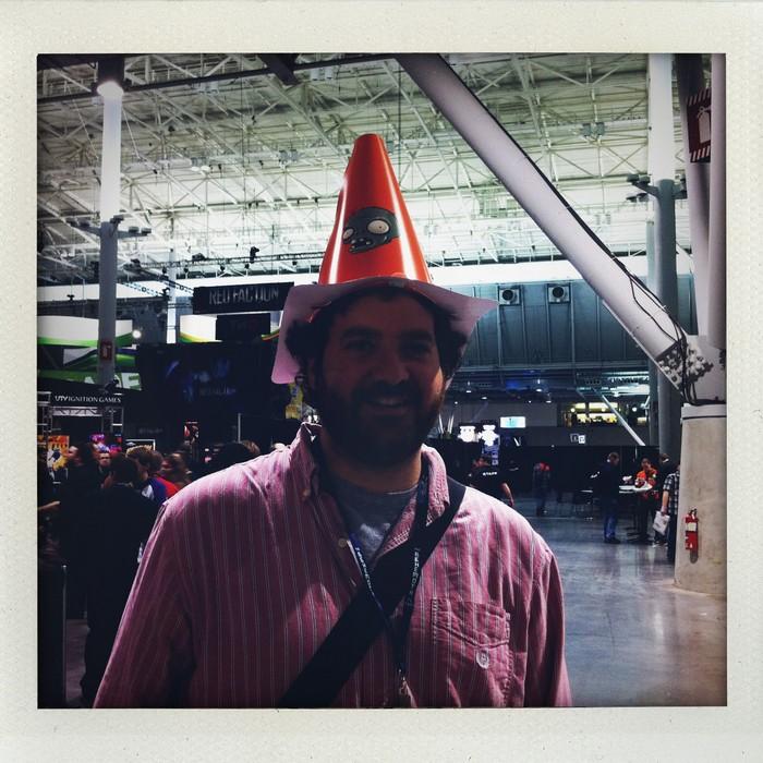 Matt Marrone and Hat