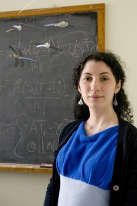 Asst. Professor DEENR/DIMACS, Nina H. Fefferman