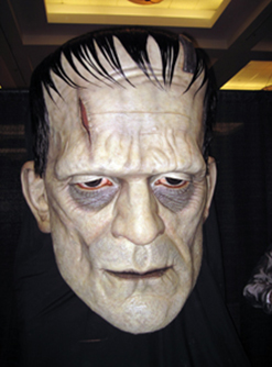 Frankenstein's Monster by Mike Hill