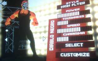 TNA Wrestling Impact - Diablo Negro