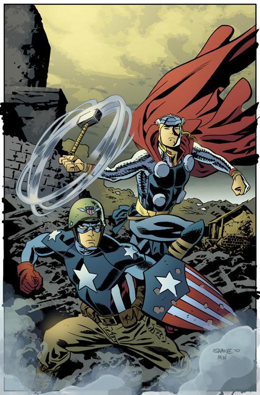 samnee thor captain america
