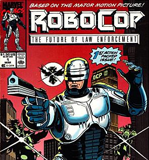 RoboCop comic