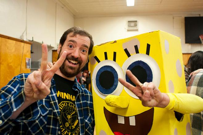 Maccone meets SpongeBob