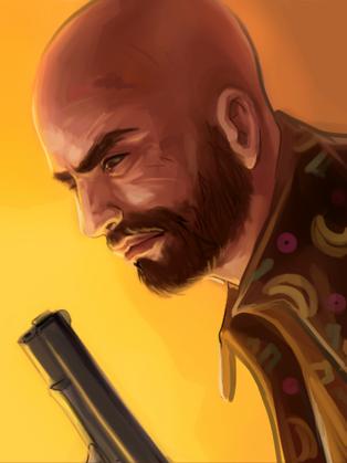 Max Payne art