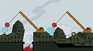 Sound Shapes - Cities - cranes
