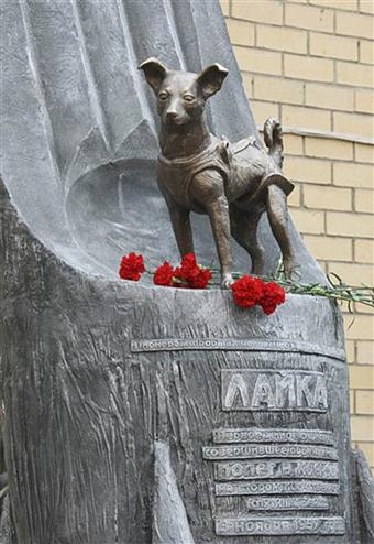 laika monument