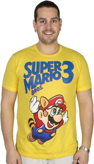 Super Mario Bros 3 shirt