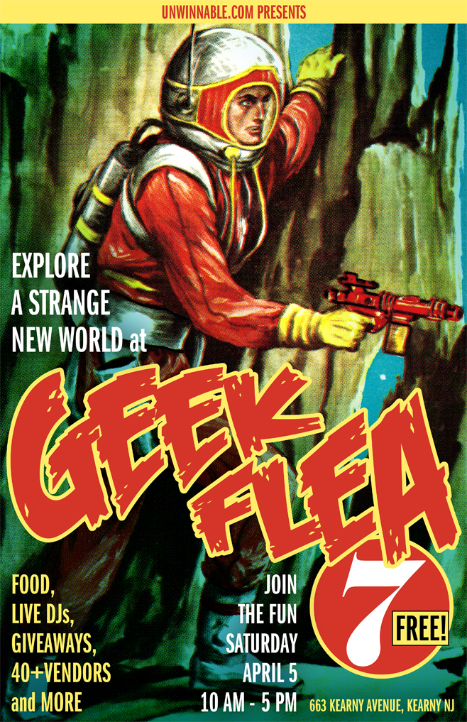 Geek Flea 7 Poster