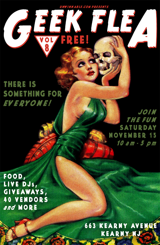 Geek Flea 8 Poster - Site