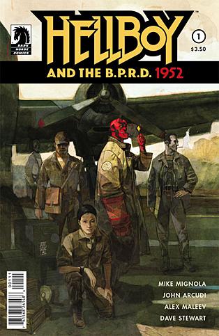 Hellboy BPRD 1952_1