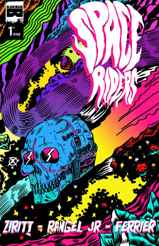 Space Rider 1 Cover
