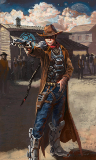 Sci fi Cowboy Screenshot