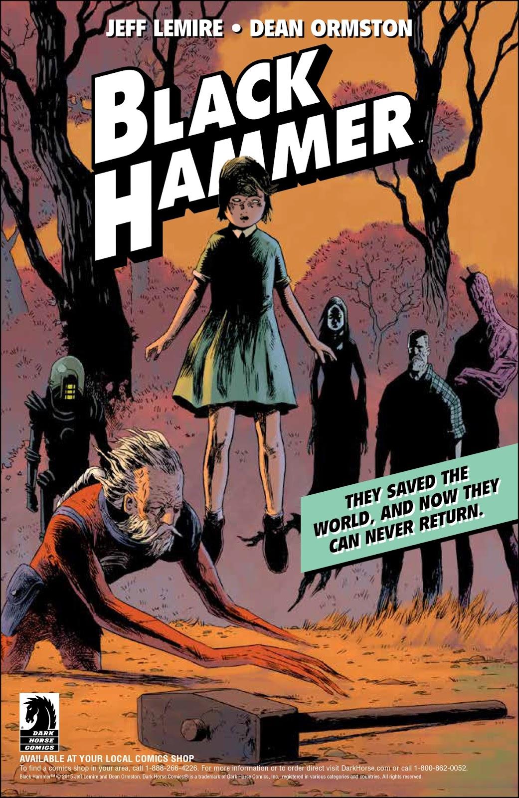 Jeff Lemire Dean Ormston Black Hammer